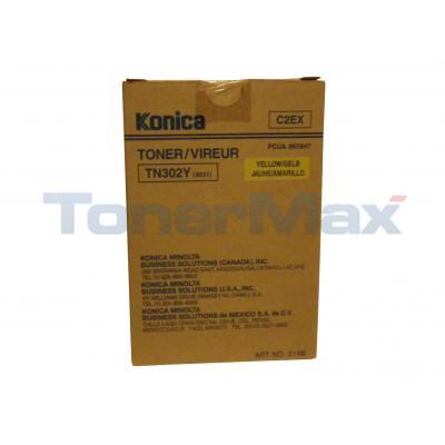 KONICA 8020/8031 TONER YELLOW
